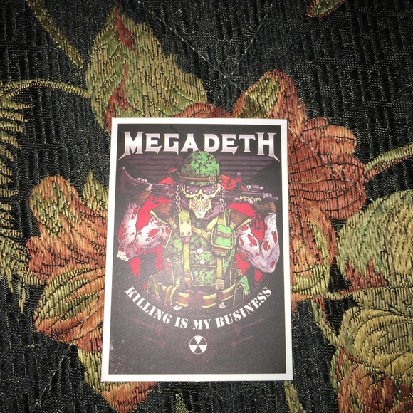 Megadeth decal